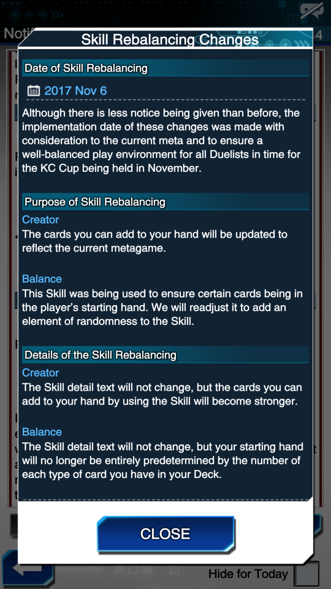 [Duel Links] Forbidden / Limited List Changes and Skill Balancing - Beyond  the Duel