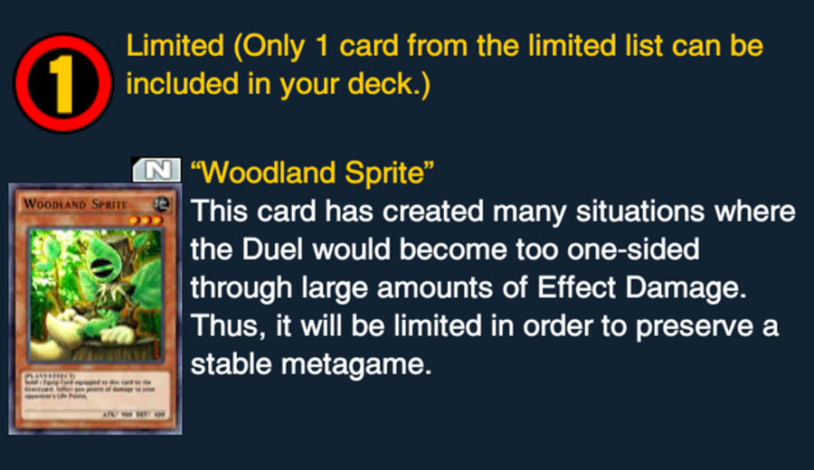 [Duel Links] Woodland Sprite to be Limited - Beyond the Duel