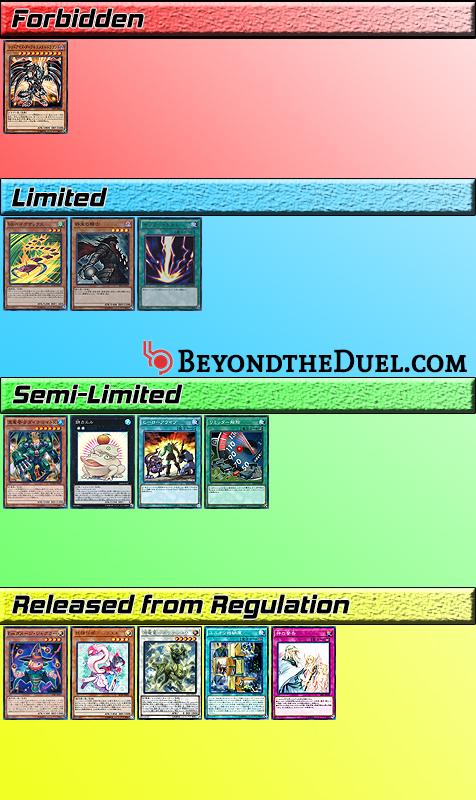 OCG Limit Regulation April 2019 Changes - Beyond the Duel